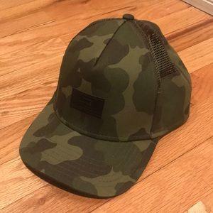 Vans camo hat adjustable